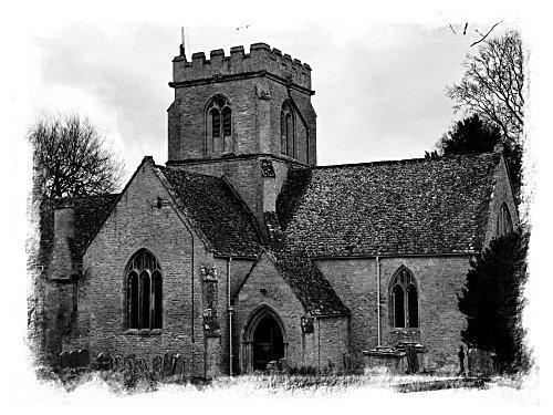Church on the hill by edz2001
