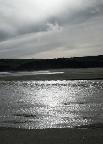Pentewan Beach by Saxon Marsh