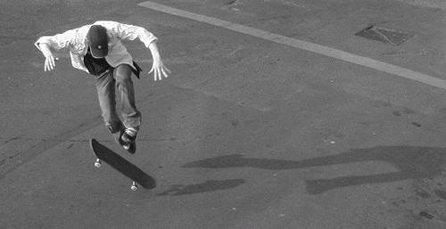Skateboarder by kidda