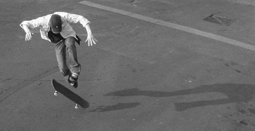 Skateboarder by kidda