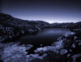 Mountain lake - Llyn Pryfedd