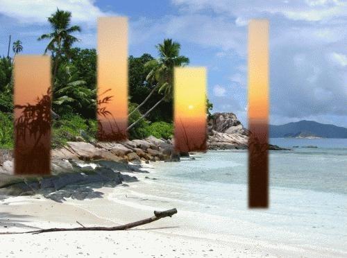 Kenyan Sunrise in Seychelles by deancarney