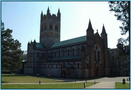 Buckfast Abbey by rikewoo