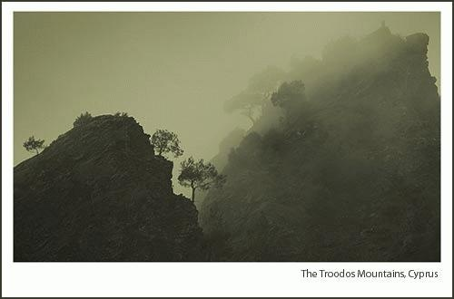 Mist in the Troodos by Pete