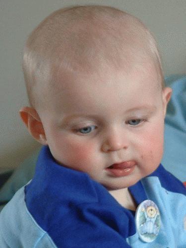 Thomas on his 1st Birthday by alex.allen