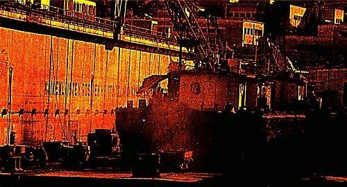 Floatdock in disrepair by malleader