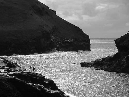 Boscatle Harbour mouth by alex.allen