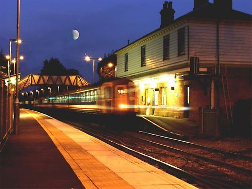Late Train by Ray Willmott