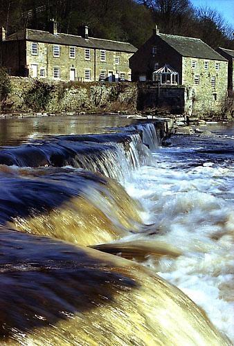 River Tees Barnard Castle by icphoto