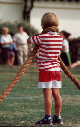 Rope Girl by gerryg