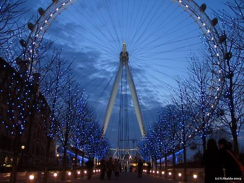 London Eye @ Night by sshaida