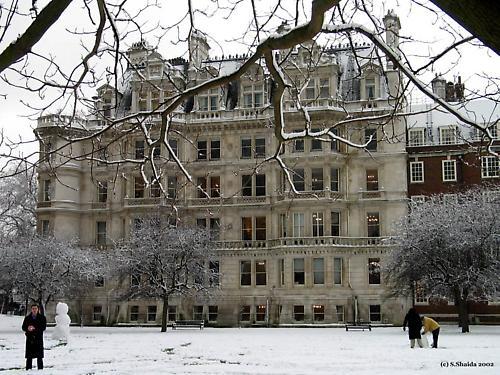 London Snow by sshaida