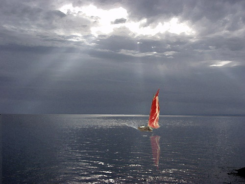 Red Sail by peterkent