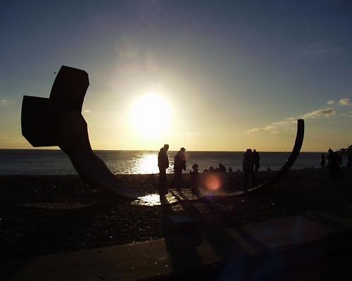 Brighton beach by atohire