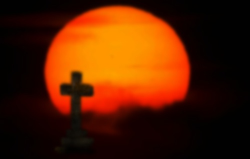 Cross at dawn by malleader
