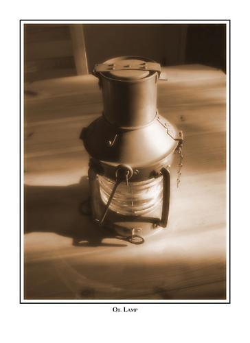 Oil Lamp by blu
