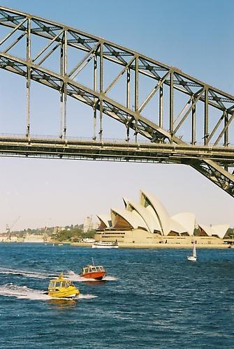 Sydney Harbour by moggo