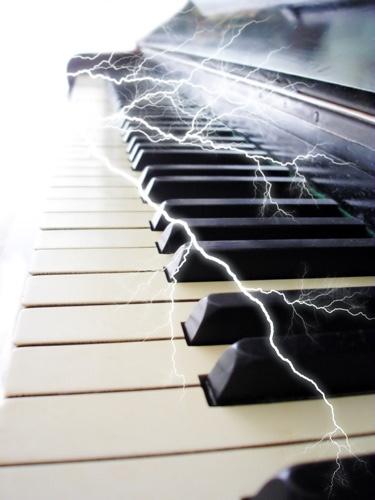 Electric Keyboard by Steel