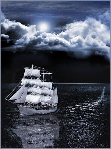 Moonlight Sail by peterkent