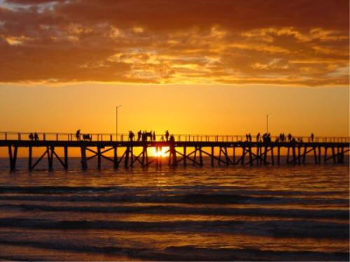 Semaphore Sunset by bigredtim