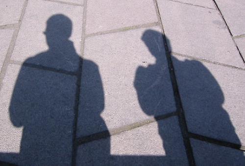 Me & My Shadonw, & Dads by gagsy