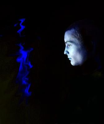 Blue Flame by leesearle