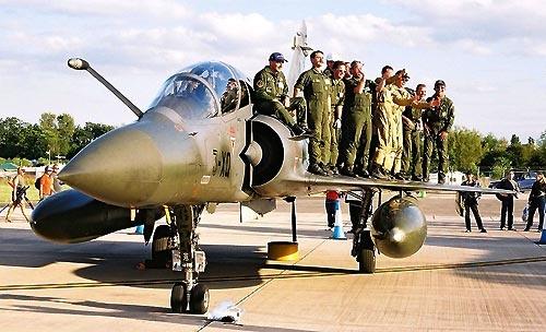Mirage 2000 Load Testing by Ian-Jones