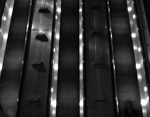 Escalators by iaingilfillan