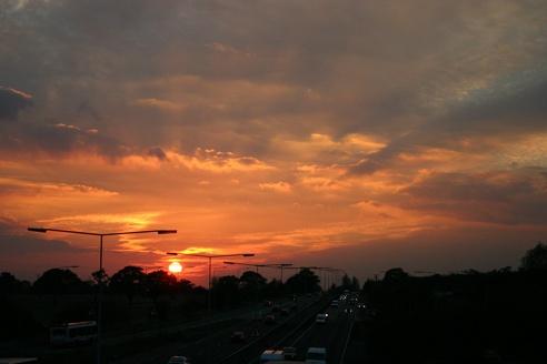 1st Sunset by simon9924