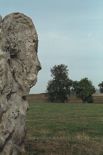 Stone face by ganstey