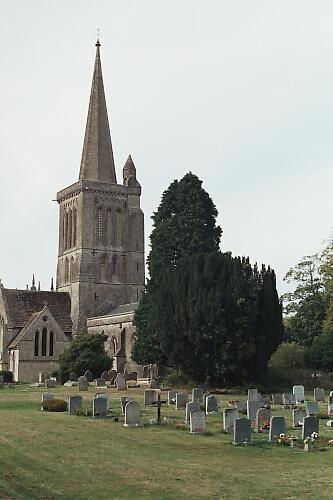 Bishops Cannings Church by ganstey