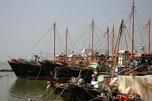 Fishing Boats by ganstey