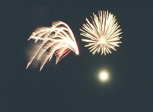 Cropped fireworks by ganstey