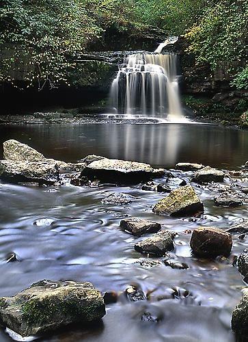 West Burton Falls by icphoto