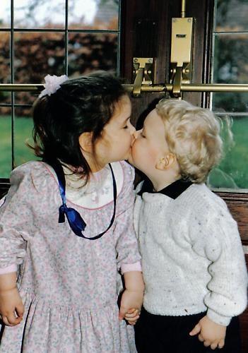 First Kiss by graymw