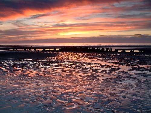 Fylde sunset by markthompson