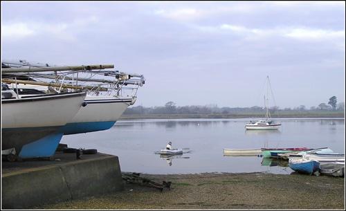 Coming Ashore by gazleton
