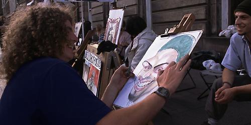 the portrait artist by dannybeath