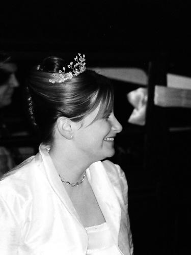 The Happy Bride by minoltaandy