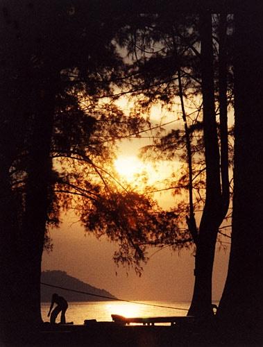 Penang sunset by gma