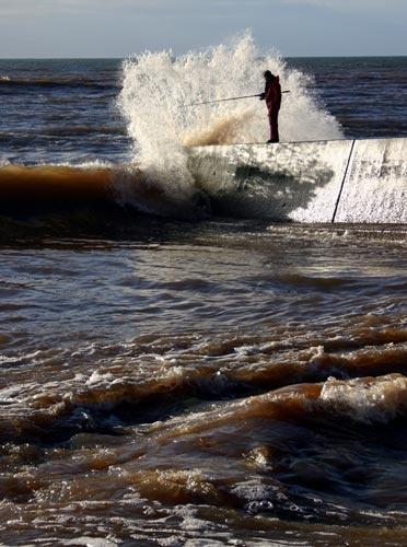 Wave Goodbye by moggo