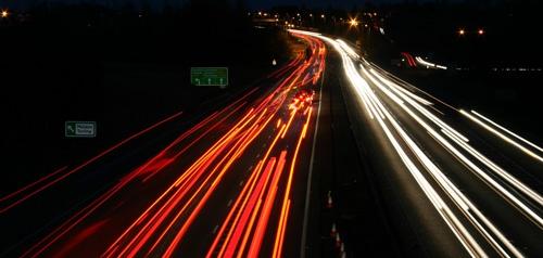 A12 traffic trails by simon9924