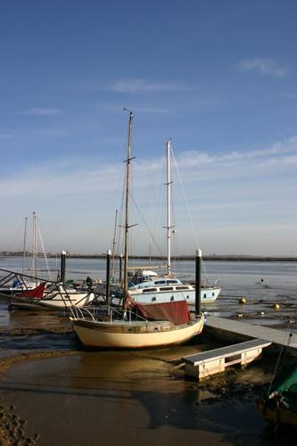 Heybridge Harbour by simon9924