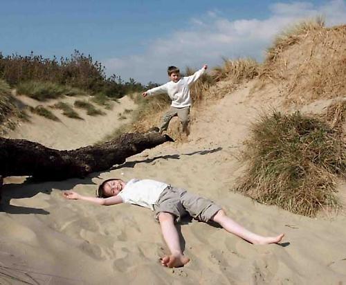 Among the dunes by john p