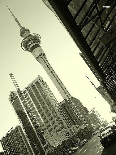 The Sky Tower by DevilsAdvocate