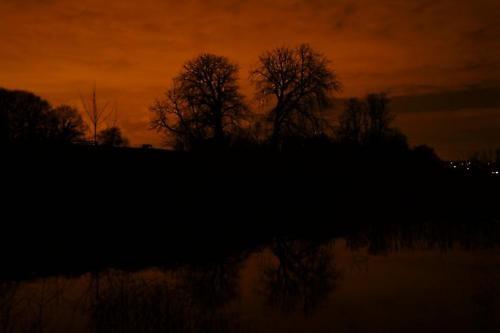 Late night reflection by j-rho