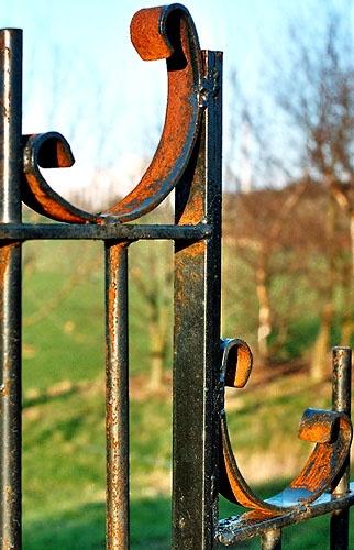 Rusty Railings by ericfaragh