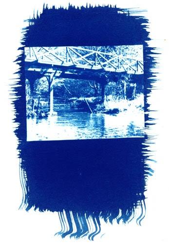Blue Bridge by jimthistle73