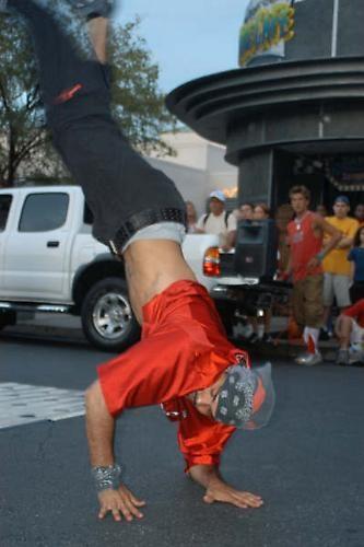 Breakdancer by jonnie