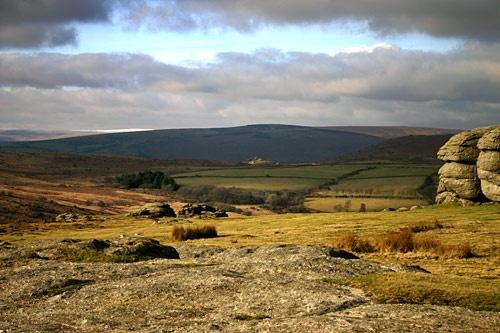 Towards Widecombe by davidc